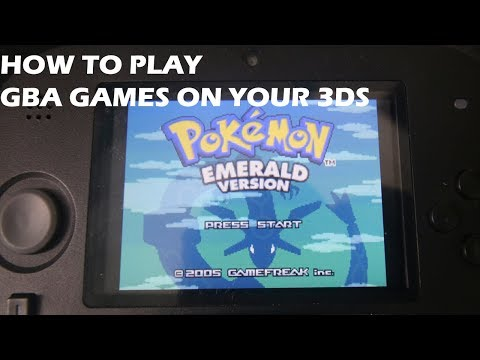 3DSHACKS - HOW TO PLAY GBA GAMES ON YOUR 3DS