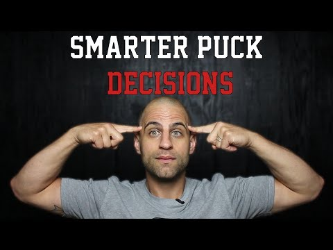 Top 3 Ways to Make SMARTER Decisions with the Puck | Hockey Sense