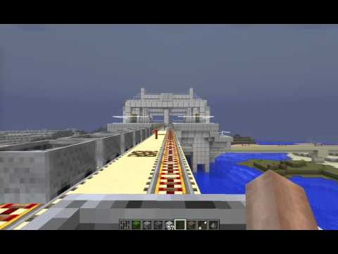 Minecraft Fully Automatic Subway System (2016)
