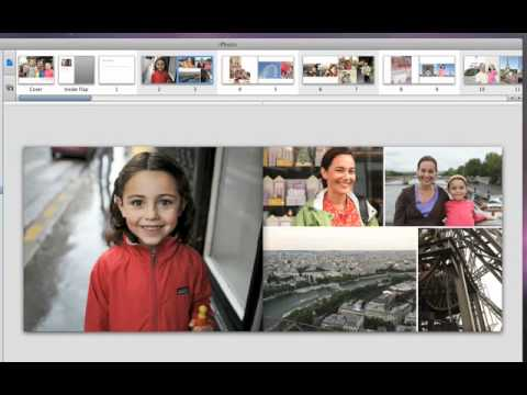 iPhoto create your own photo book