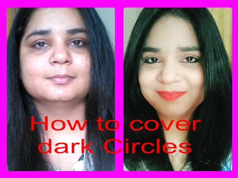 How to cover Dark circles   L.A. Girl   Angels reborn