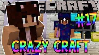 Minecraft: YouTuber Survival #17 - Meanies! (Minecraft Crazy Craft 3.0 SMP)