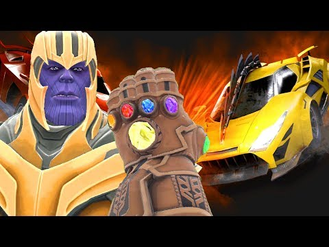 Can Thanos' INFINITY GAUNTLET Destroy CARS & VEHICLES in Gmod?