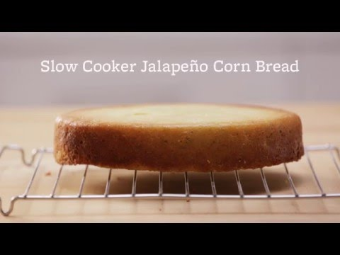 Side Dish Solution: Jalapeno Corn Bread from Your Slow Cooker!