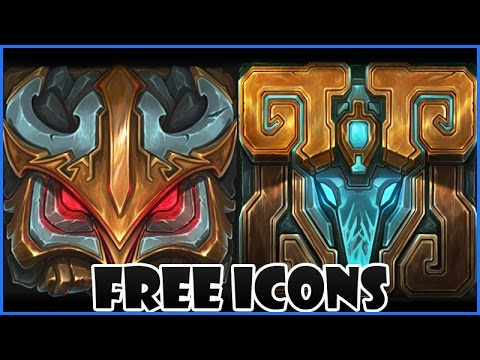 Get Free League Of Legends Icons - Blue and Red Team
