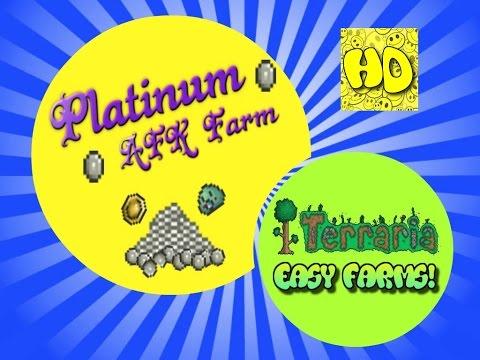 Terraria Easy AFK Platinum Farm | 1.3 events and farms