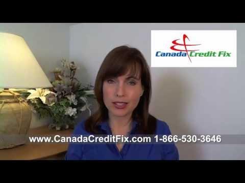 Canada Credit Fix- Equifax & Transunion Credit Reports, Debt Settlement, Credit Repair