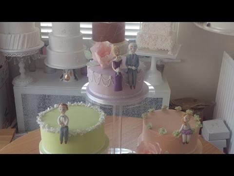 An Afternoon Tea Inspired Wedding Cake