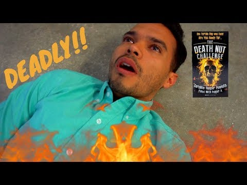 Death Nut Challenge  *WORLD'S HOTTEST PEANUTS* │ Carolina Reaper, Pepper X, and MORE!!!