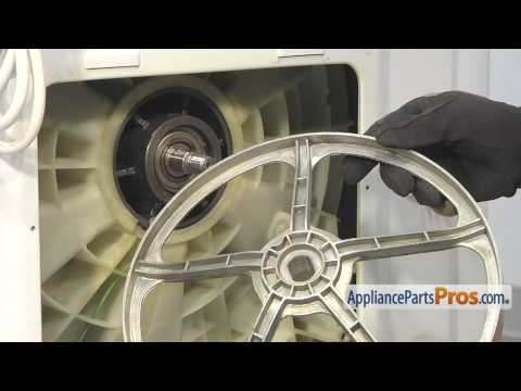 Washer Drive Pulley Kit (part #WH07X10016) - How To Replace