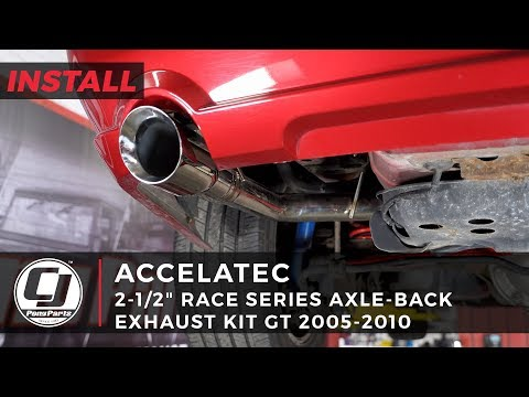Mustang GT Install: ACCELATEC 2-1/2