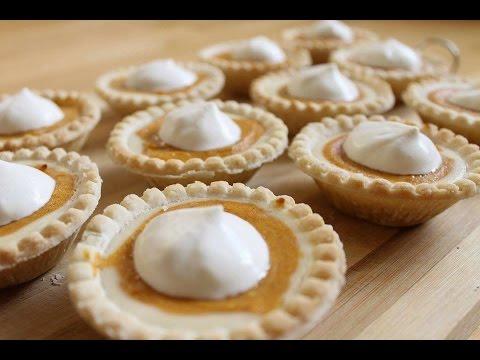 Mini Pumpkin Cheesecake Tarts - JessBakeIt - Episode 3