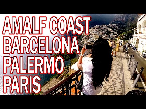 Amazing Europe Trip 2017! Paris - Palermo - Naples - Amalfi Coast - Barcelona