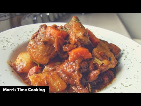 How To Cook The Best Brown Stew Chicken | Lesson #46 | Jamaican Style | Morris Time Cooking