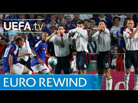 EURO 2004 highlights: France 2-1 England