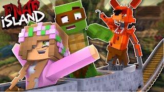 FINDING OUT FREDDYS SECRET ON FNAF ISLAND!Minecraft Five Nights At Freddies w/LittleKelly,TinyTurtle