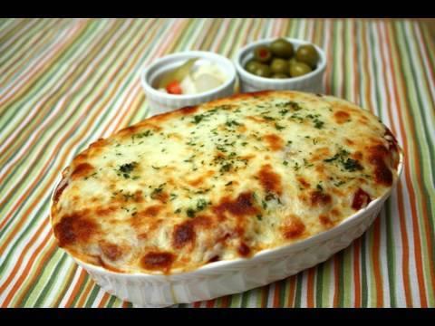 【Fusion Food】 Cheese Oven Spaghetti (치즈 오븐 스파게티)