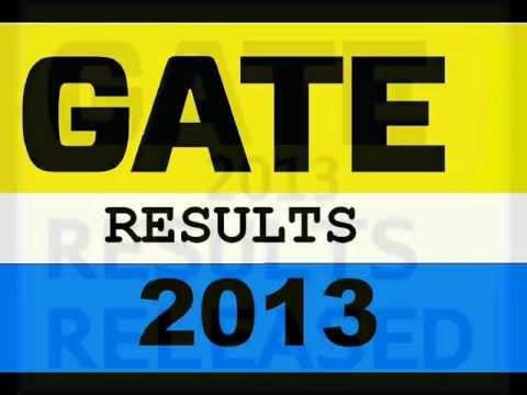 GATE 2013 RESULTS are RELEASED   TECHNO90Blogspot