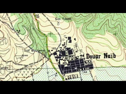 How to digitize a scanned map with ArcGIS