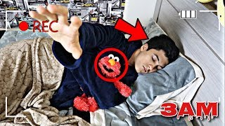DO NOT RECORD YOURSELF SLEEPING WITH ELMO AT 3AM!! *ELMO MOVED*