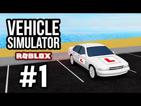 FAILING MY DRIVING TEST - Roblox Vehicle Simulator #1