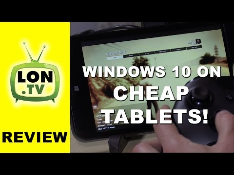 Windows 10 on Cheap Tablets / PCs - Xbox One Streaming Too! - HP Stream 7 Demoed