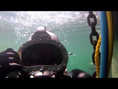 CDA Technical Institute Diver-Vision - Deep Water Hat Training