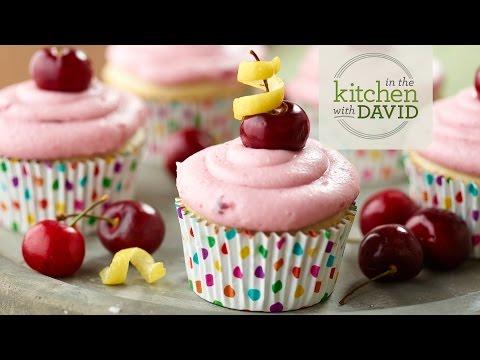 How to Make Cherry Sunshine Cupcakes