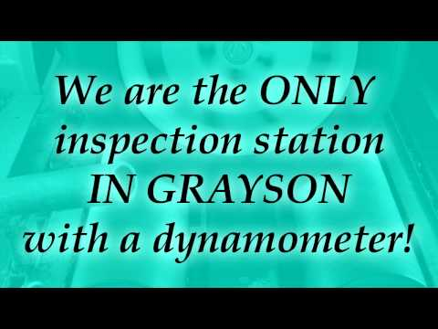 Emissions Testing Questions | Dynamometer | Grayson Smog Inspection Older Cars
