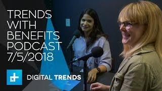 Trends With Benefits Podcast: Amazon Echo Look, Galaxy X foldable phone, iPhone X giveaway