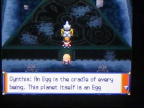 Pokemon Heart Gold Arceus Event