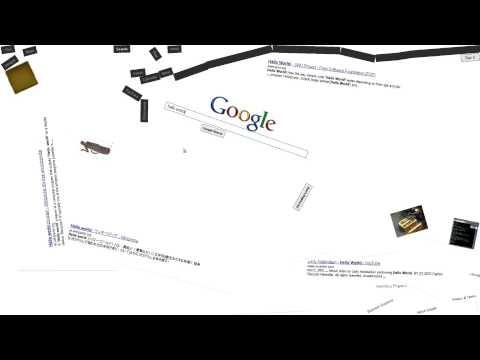 Google Space chrome experiment