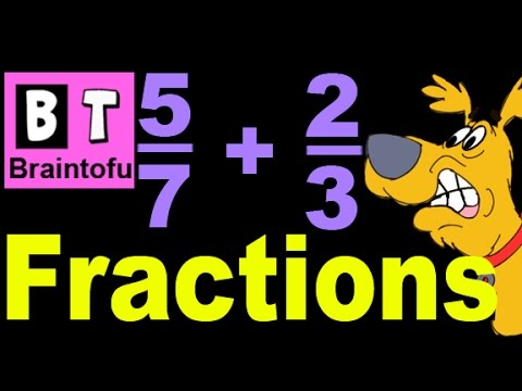 Basic Math Lesson for Kids - Adding and Subtracting Fractions