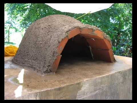 pizza oven clay and cement pictorial report great diy project