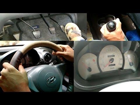 Basics to drive car in telugu