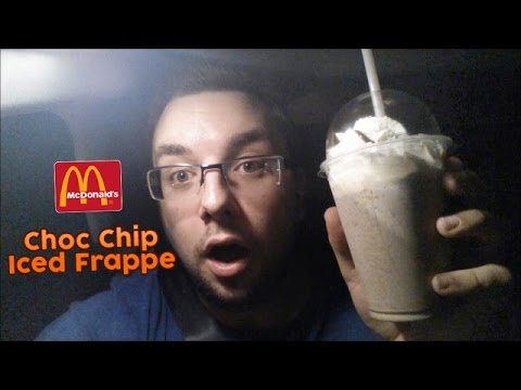 McDonalds Chocolate Chip Iced Frappé Review