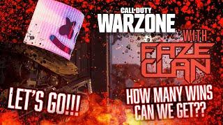 COD Warzone Consecutive Wins Challenge | Marshmello x FaZe Adapt x FaZe Temperrr Stream Highlights