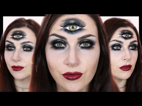 Fortune Teller / Third Eye Makeup   Halloween 2015