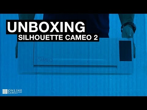 Silhouette Cameo 2 Unboxing - See What's Inside