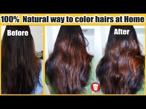इसे बालो में लगा लिया तो ऐसा कलर और चमक आएगी बालो पे की पार्लर जाना भूल जायेंगे - Heena Mask