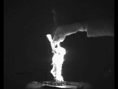 Burning coffee creamer