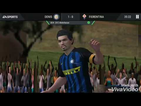 FIFA 16 ultimate team android game play!!