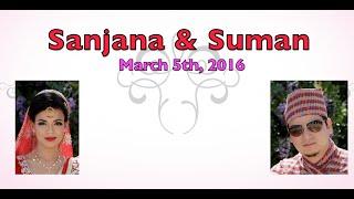 Sanjana & Suman Wedding Highlights 4k | Nepali Style #bikudaa