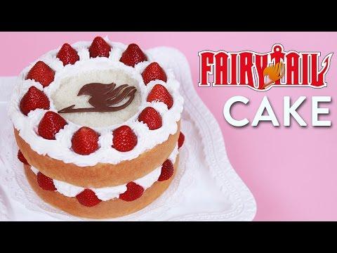 FAIRY TAIL FANTASIA CAKE - NERDY NUMMIES