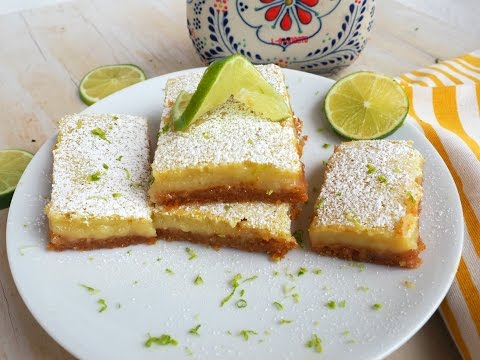 Dessert Recipe: Margarita Bars by Everyday Gourmet with Blakely