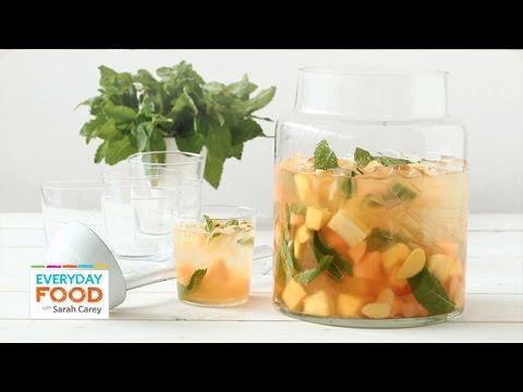 Summer Fruit Sangria - Everyday Food with Sarah Carey
