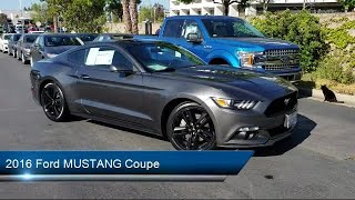 Download 2016 Ford MUSTANG Coupe EcoBoost Premium Fremont San Jose Hayward Union City San Leandro Video