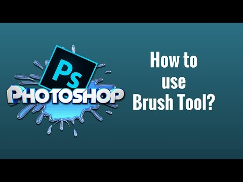 How to use Brush Tool in Photoshop CC Tutorial