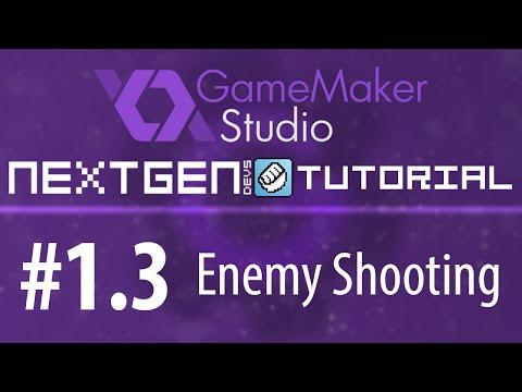 Game Maker Tutorials #1.3 - Enemy Shooting