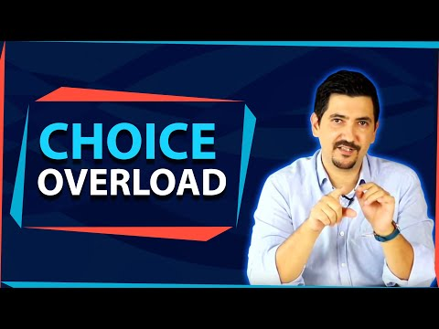 Choice Overload: This is Why You Should Limit Your Choices ✓